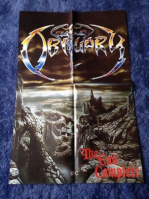 OBITUARY - The End Complete POSTER (60cm x 40cm)