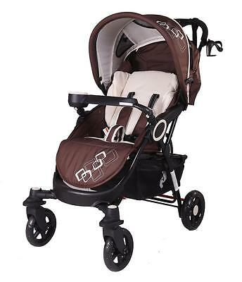 Brand New 4 Wheel Stylish & Elegant Baby Pram/Stroller