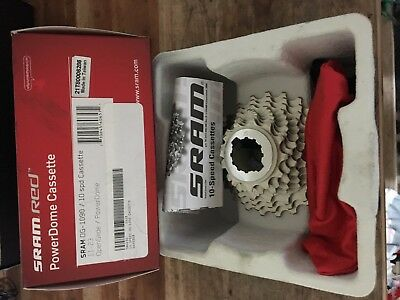 Sram Red OG-1090 11-23 Bicycle Cassette-10 Speed-Open Glide Power Dome-Road-New