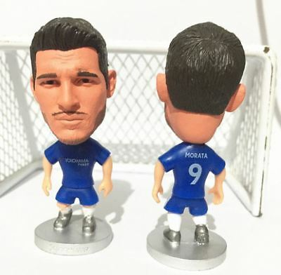Statuina ALVARO MORATA  #9 CHELSEA FC premier league football action figure doll