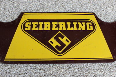 Vintage - Seiberling Tire Stand Sign - 1 Piece - Metal