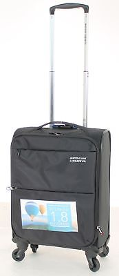 Australian Luggage Co So-Lite 48cm Carry-On Spinner Suitcase Black