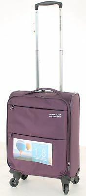 Australian Luggage Co So-Lite 48cm Carry-On Spinner Suitcase Plum