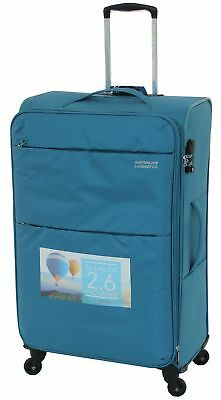 Australian Luggage Co So-Lite 77cm Spinner Suitcase Teal