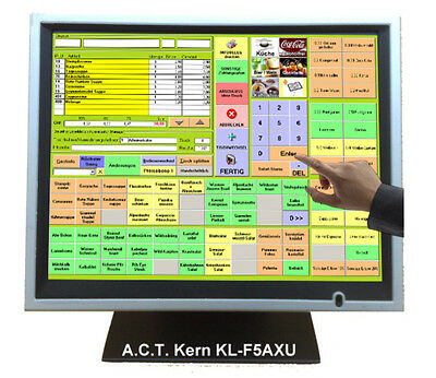 "Touch Monitor, 15"" Touchscreen Monitor, Kassen-Monitor, USB A.C.T. Kern KL-F5AXU"