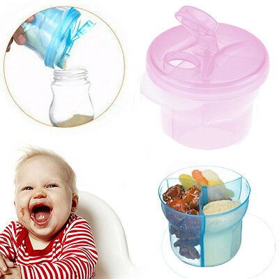 1*Portable Baby Milk Powder Storage Feeding Box Formula Dispenser Food Container