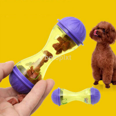 Lovely Tasty Toy Pet Dog Puppy Cat Treat Dispensing Holder Training New