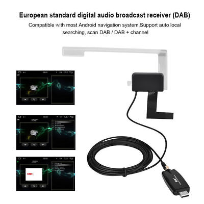 DAB+Digital Radio Tuner USB 2.0 Stick for XTRONS Android5.1 & 6.0 Car DVD Stereo