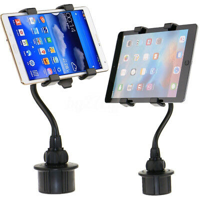 Adjustable Flexible Car Cup Holder Mount For iPad Kindle 7''-10'' Tablet PC GPS