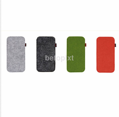 Sunglasses Case Glasses Box Felt Eyeglass Bag Eyewear Pouch FR