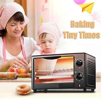 220V New Mini Stainless Electric Oven Coal-scuttle Roaster For Baking Pizza
