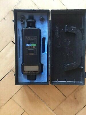 Rs Components Digital Photo/Contact Tachometer Rs 163-5348
