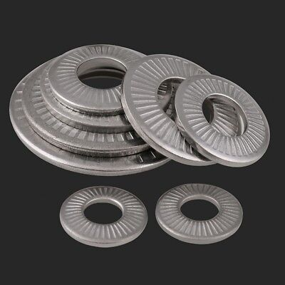 304 A2 Stainless Steel M3/M4/M5/M6/M8/M10/M12 Butterfly Saddle Washers Anti-skid