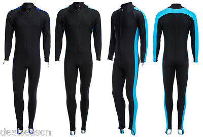 Unisex Watersport Sunscreen Keep Warm Jumpsuit Diving Suit Wetsuit