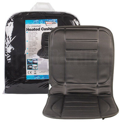 12V Universal Heated Car Padded Seat Cushion Thermostatically Controlled Warmer
