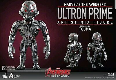 Marvel The Avengers Artist Mix Ultron Prime Hot Toys Sideshow Collectibles set3