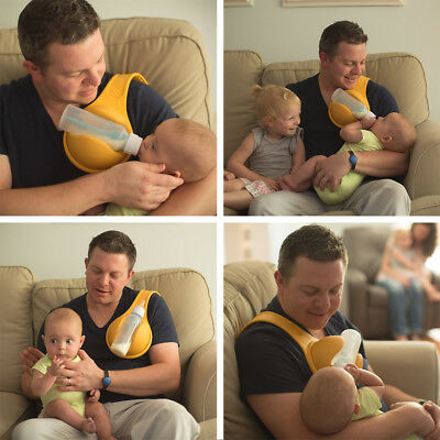 Hands Free Newborn Infant Milk Bottle Holder Baby Feeding Bottle Support Bag *