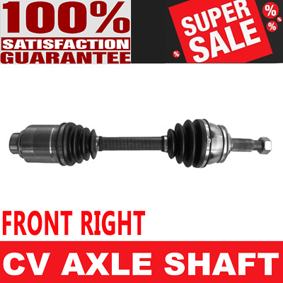 Pair Front CV Axle Shaft for N MURANO 03-07 AWD