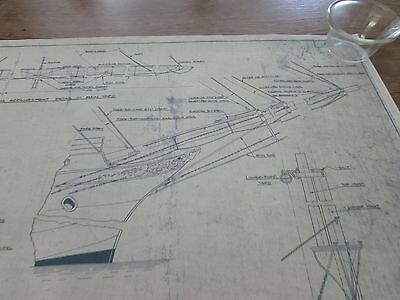 Ship's Blueprints NO. 29  Harold Underhill, Glasgow MASTS AND SPARS