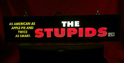 "The Stupids (1996)  Vintage Large Movie Theater Mylar 5"" X 25"""