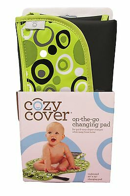 Cozy Cover On-the-Go Changing Pad - Yellow