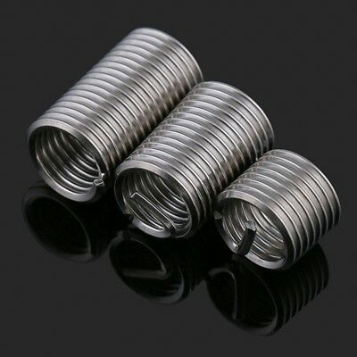 M2 M2.5 M3 M4 M5 304 A2 Stainless Steel Insert Thread Repair Helicoil Compatible