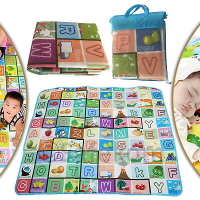 New Kids Baby Crawling Educational Game Baby Play Mat Soft Foam Carpet 2 Sided