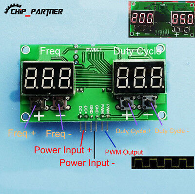 Pulse Frequency Duty Cycle Adjustable PWM Module Stepping Motor Driver Board