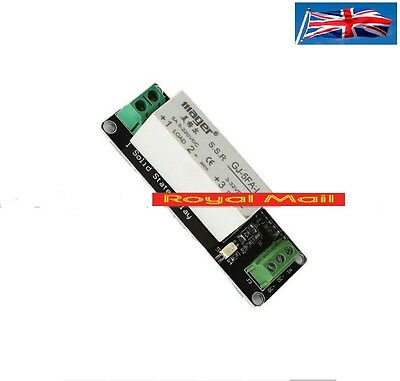 1 Channel SSR Solid State Relay High-low Trigger 5A 3-32V  Arduino Uno R3 #R19