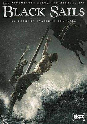 Black Sails - Stagione 2 (3 DVD) - ITALIANO ORIGINALE SIGILLATO -