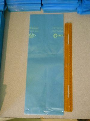 "Cortec Corporation VpCI-126 Blue Corrosion Inhibitor Bags 5"" x 14"" Used 100ct."