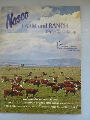 Nasco Farm and Ranch Catalog, 1974-75 Comprehensive Inventory for off-grid ranch