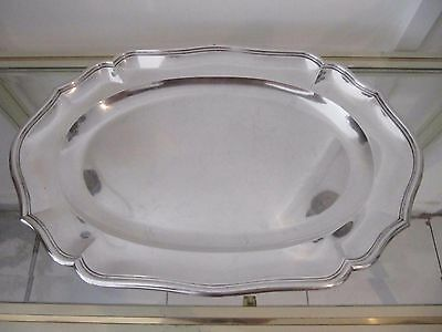 1930 french sterling silver oval platter French 18th c st 1164g 41oz E Prost
