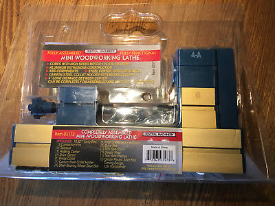Central Machinery 03173 Mini-Hobby Woodworking Lathe new in box