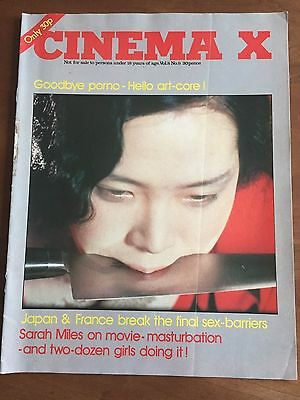 Cinema X   Vol. 8 No. 9  (International Guide for Adult Audiences)