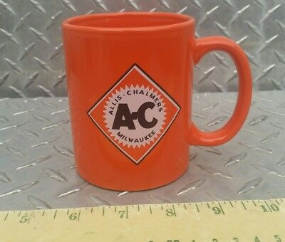Agco allis chalmers tractor old logo Tractor Glass coffee Mug Stein glass cup!!!
