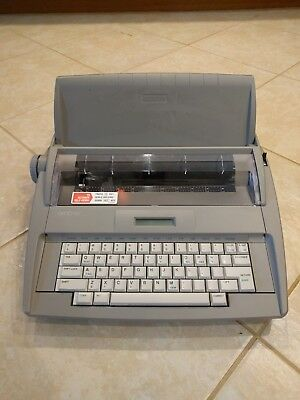 Brother SX-4000 Portable Word-Processor - Clean Great Condition Ships Fast