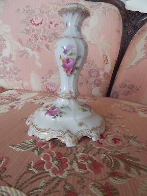 Meiseen candlestick (antique German porcelain)