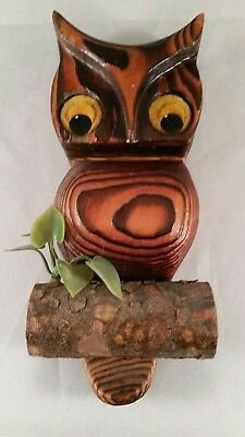 Owl wall plaque.