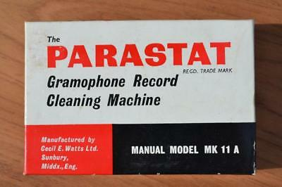 Parastat Gramophone Record Cleaning Kit - Model MK 11 A