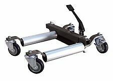 "Hydraulic Vehicle Positioning Jack 12"" Go jack wheel dolly Trolley BRAND NEW"