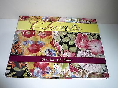 Chintz Ceramics With Values By Jo Anne P. Welsh Schiffer Publications