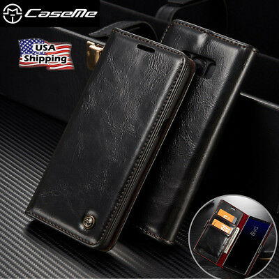 For Samsung Galaxy Note 8 Luxury Flip Leather Card Wallet Stand Phone Case Cover