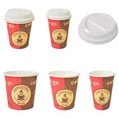 vidaXL 1000 pcs Disposable Coffee Cups Paper Takeaway Party Festival 6 Models