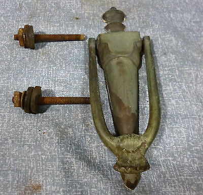 Antique Brass Door Knocker with Mounting Bolts