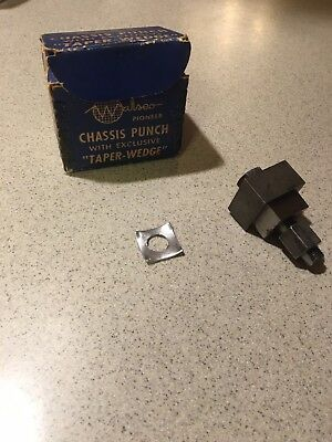 Vintage Chassis Pannel 1 Square inch punch