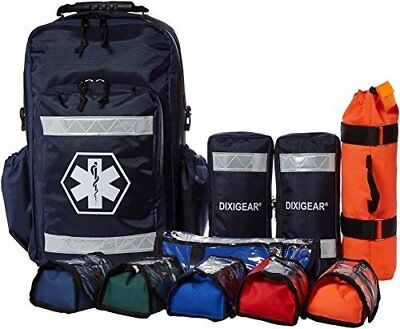 Dixie Ems Ultimate Pro Trauma O2 First Responder Medic Oxygen Backpack