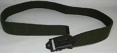 The Official BSA Centennial Boy Scout Web Belt S/M, M/L or XL NEW