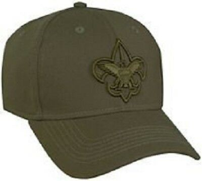 The Official Boy Scouts of America Stretch Fit Uniform Cap SM/MD MD/LG or XL NEW