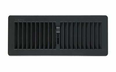 "Floor Register Floor Vent Cover Heating Vent Vents 300 x100mm 12""x4"" Slate Greys"